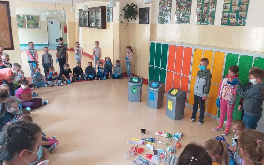 Sprzątanie świata w naszej szkole