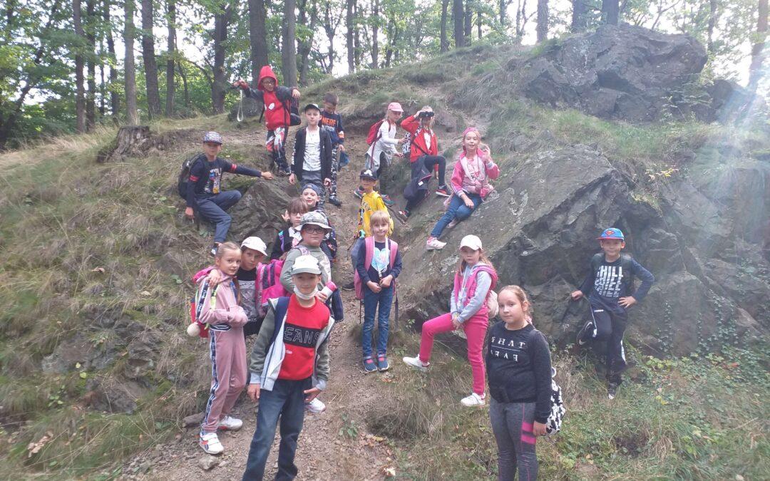 Wycieczka do lasu – okolice Zamku Książ