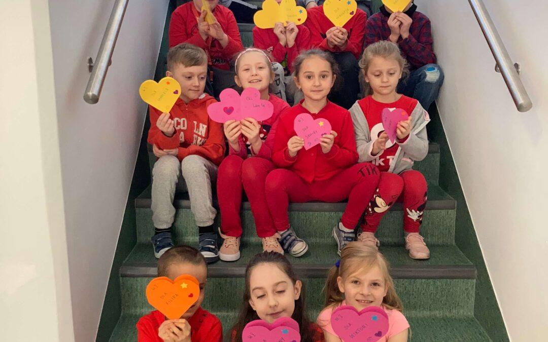Walentynki w klasie I
