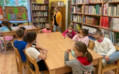 Zajęcia w bibliotece miejskiej